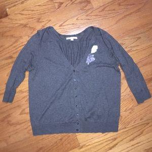 Quarter Length Sleeve Old Navy Cardigan